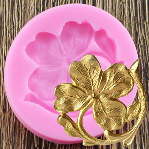 WYNYX Molde de Silicona de Flores Moldes de Arcilla de Resina Herramientas de decoración de Pasteles DIY Fondant Moldes de Goma de Caramelo de Chocolate