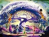 Slbtr Puzzel Für Erwachsene 1000 Teile Tinkerbell Filmplakat Lernspielzeug Für Erwachsene Kinder Wohnkultur Gemälde, Kinder