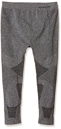 Dare 2b Leg Première Couche Technique Legging Homme Longueur 3/4 Zonal III, CharcoalGrey, FR : 2XL (Taille Fabricant : 2/3XL)