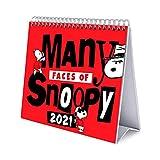 ERIK - Calendario de Escritorio 2021 Snoopy, 17x20 cm