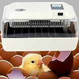 Iglobalbuy Couveuse Automatique 24 œufs, Incubateur L'affichage Digital L'alarme de Température pour L'éclosion...