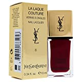 Yves Saint Laurent La Laque Couture, 8 Fuchsia Cubiste, Donna, 10 gr