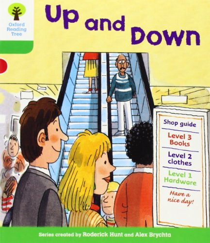 Oxford Reading Tree: Level 2: More Patterned Stories A: Up and Downの詳細を見る