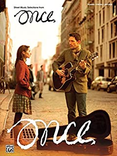 Once -- Sheet Music Selections: Piano/Vocal/Guitar (PIANO, V