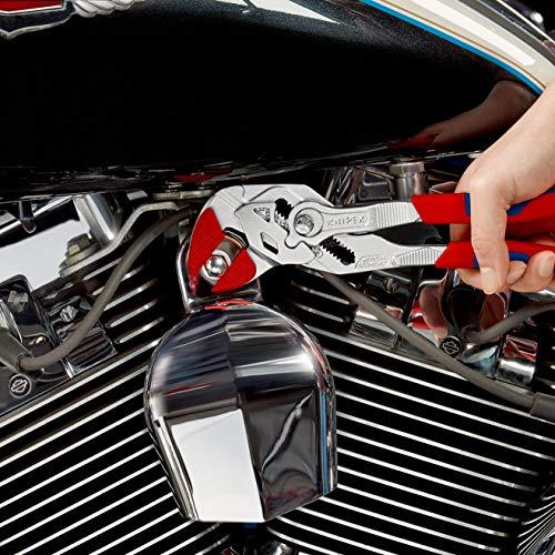 Knipex Zangenschlüssel – Greifzange und Schraubenschlüssel, 250 mm, Greifweite bis 46 mm - 11