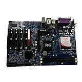 Selcouthlie Placa Base de Monitoreo de Seguridad G41 DVR LGA775 DDR3 5 Ranuras PCI Placa Base de Computadora de Escritorio Industrial
