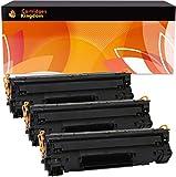 Cartridges Kingdom Pack de 3 Cartuchos de tóner láser compatibles con HP CF279A 79A para HP Laserjet Pro MFP M26A, MFP M26nw, M12, M12a, M12w
