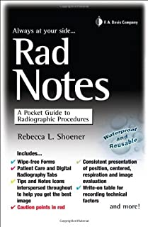 Rad Notes: A Pocket Guide to Radiographic Procedures (Davis's Notes)