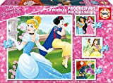 Educa- Princesas Disney Progresivos, Puzzle Infantil de 12,16,20 y 25 Piezas, a Partir de 3 años (17166)