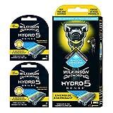 Wilkinson Sword - Maquinilla de Afeitar Hydro 5 Sense Energize + 8 Recambios de Cuchillas de...