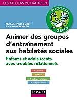 Animer des groupes d'entraînement aux habiletés sociales - Enfants et adolescents avec troubles relationnels : Autisme, TDA/H, Troubles anxieux, Haut potentiel de Nathalie Fallourd