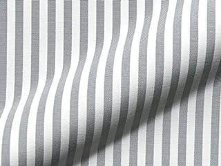 Tissu au mètre coton Bloc Rayures Noir Blanc Rayé Rideau Canada