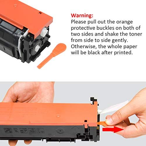 2 Pack Black CF410A 410A Compatible Toner Cartridges for use with Color Laserjet Pro MFP M477fdn M477fdw M477fnw M452dn M452nw M452dw M377dw Series Printer Photo #7
