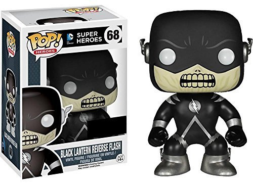 dc comics Funko Pop. Figurine Black Lantern Reverse Flash Exc.
