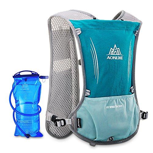 Lixada Mochila Pack Hidratación, Deporte Botella de Agua Mochila Bolsa con 1,5L Vejiga de Hidratación