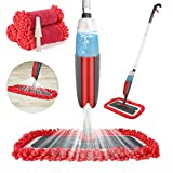 Balai lave sol avec vaporisateur,Winpok Microfibre balais serpillère pour Nettoyage du Sol en Spray Balai de...
