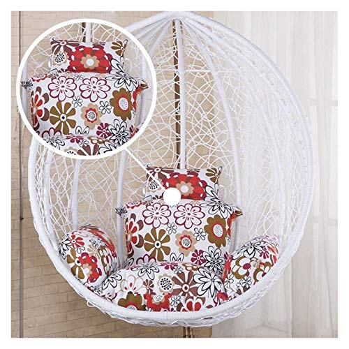 LLNN Home Decoration Swing Chair Cushion Home Hanging Egg Hammock Swing Chair Pads, Basket Chair Cushions Cradle Removable Seat Cushion Hanging Basket Furniture Cushion (Color : B)
