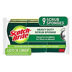 scotch-brite heavy duty sponges