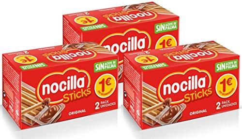 Sticks de Nocilla Original: crema de cacao natural con avellana y palitos...