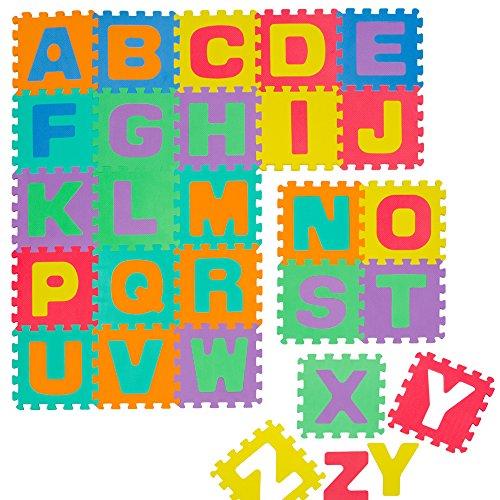 Alfombra Puzle para Niños | en Espuma EVA | con Letras Alfabeto Desmontables