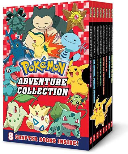 Adventure Collection (Pokémon Boxed Set #2: Books 9-16)