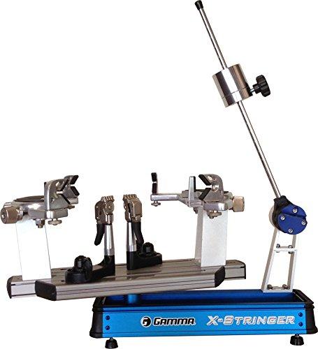 Gamma Besaitungsmaschine X-6FC, MGX6 12, blau, Hebelarmmaschine