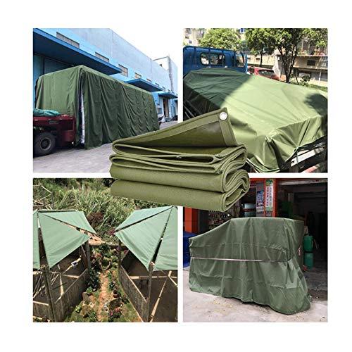 GDMING Lona Perforada, Exterior Impermeable Proteccion Solar Cubierta De Servicio Pesado para Jardín Toldo Cubrir Bienes, 13 Tamaños (Color : Green, Size : 1.85x1.4m)