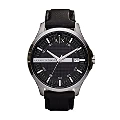 Since 1991 Armani Exchange has defined a new dress code with collections inspired by metropolitan lifestyle and music culture. Perfect for adventurous trendsetters who want unique, modern watches that are stylish in any situations Armani Exchange Ham...
