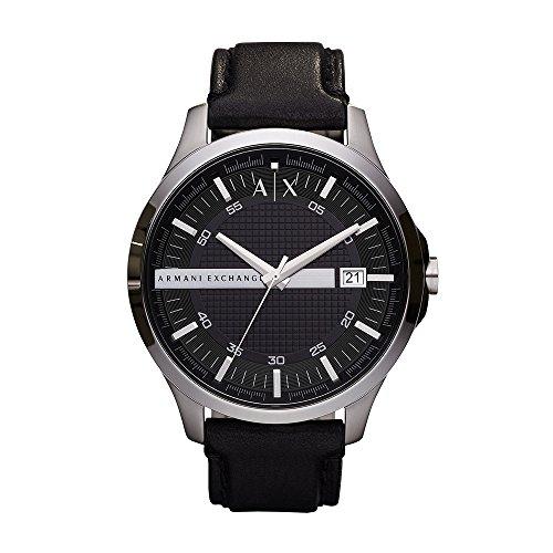 Armani Exchange Reloj Analogico para Hombre de Cuarzo con Correa en Piel AX2101