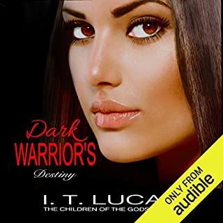 Dark Warrior's Destiny audiobook cover art