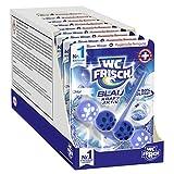 WC FRISCH Kraft Aktiv Blauspüler Chlor (10er Pack), WC Reiniger für eine sichtbare Reinigung mit blauem Wasser, Duftsteine für einen intensiven WC Duft