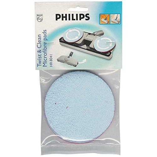 Philips HR8041/01 Ersatzscheiben für FC8042 Twist & Clean Super-Parkettbürste