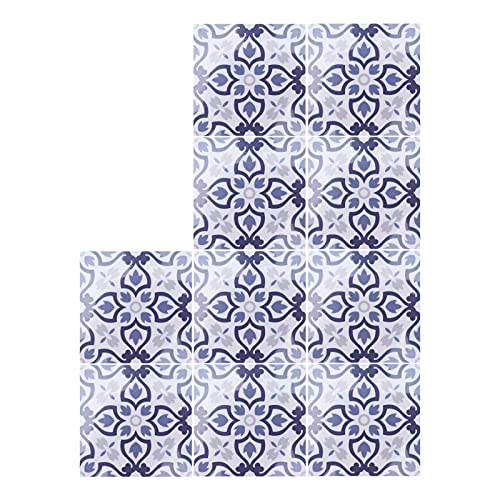 10 Uds pegatinas de azulejos antideslizantes hermético extraíble pegatina de pared azulejos pegatina para suelo de cocina armario de baño