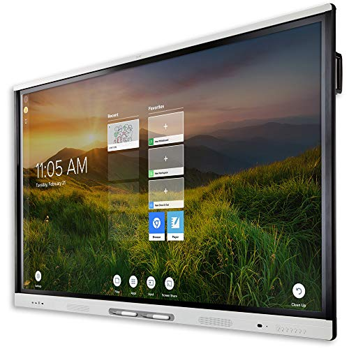Pantalla Interactiva SMART Board MX 65' V2, SBID-MX265-V2 Incluye Software Pizarra Digital - Monitor Interactivo Ideal para...