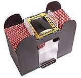 Best Card Shufflers - Silly Goose Automatic 6-Deck Card Shuffler; Poker, Blackjack Review