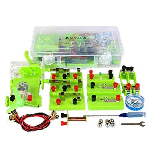 Ciencia Educativa Modelo Magnetismo Circuito Kit Básico Experimento Electrónico Estudiantes Escolares Electromagnetismo...