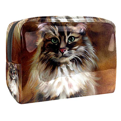Grand sac de maquillage en PVC pour les cosmétiques de voyage Vincent Van Gogh Multicolore Couleur 4 18.5x7.5x13cm/7.3x3x5.1in