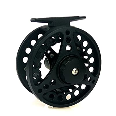 LanLan Fly Fishing Reel with Diecast CNC-machined 7/8 Weights 2+1BB Aluminum Alloy Body Fishing Reel from LanLan