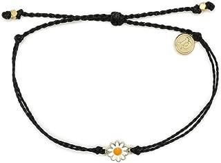 Gold or Silver Daisy Bracelet - Waterproof, Artisan...