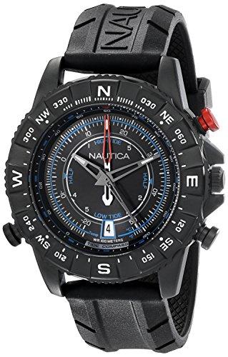 Nautica Orologio Analogico Quarzo Uomo con Cinturino in Silicone NAD21001G
