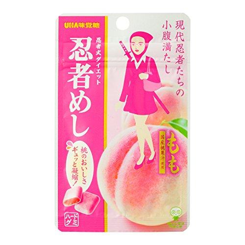 BOD UHA味覚糖 忍者めし もも味 20個セット