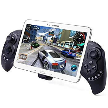 iPega PG-9023 Wireless Gamepad Game Controller Telescopic Extendable Joystick for 5-10 inch Tablets Phones Compatible with PC Android Samsung Galaxy Tab S3 S2 Note 9 Galaxy S10 S9+ S8+ Huawei