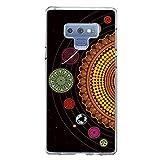 Miracle Girl - Carcasa para Samsung Galaxy Note 9 (ultrafina, TPU, goma suave, antideslizante, diseño de dibujos), transparente 5 Talla única