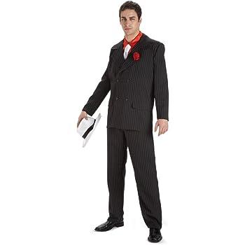 Disfraz Al Capone adulto.Talla 50/52.: Amazon.es: Juguetes y juegos