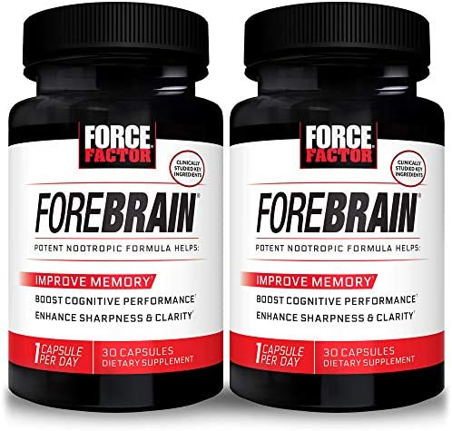 Force Factor Forebrain Nootropic Brain Supplement to Improve Memory 60 Count product image