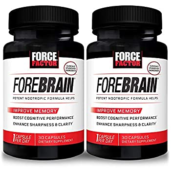 Force Factor Forebrain Nootropic Brain Supplement to Improve Memory 60 Count
