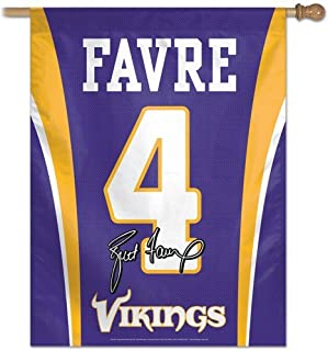 Wincraft Minnesota Vikings Brett Favre 27x37 Jersey Banner