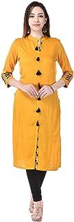 Vaachi Women's Cotton Readymade Salwar Suit