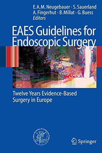 EAES Guidelines for Endoscopic Surgery: Twelve Years Evidence-Based Surgery in Europe