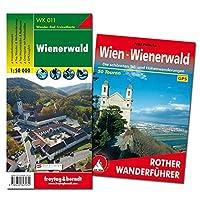 Wienerwald Wanderungen-Set, Wanderfuehrer + Wanderkarte 1:50.000, in praktischer Umhaengetasche